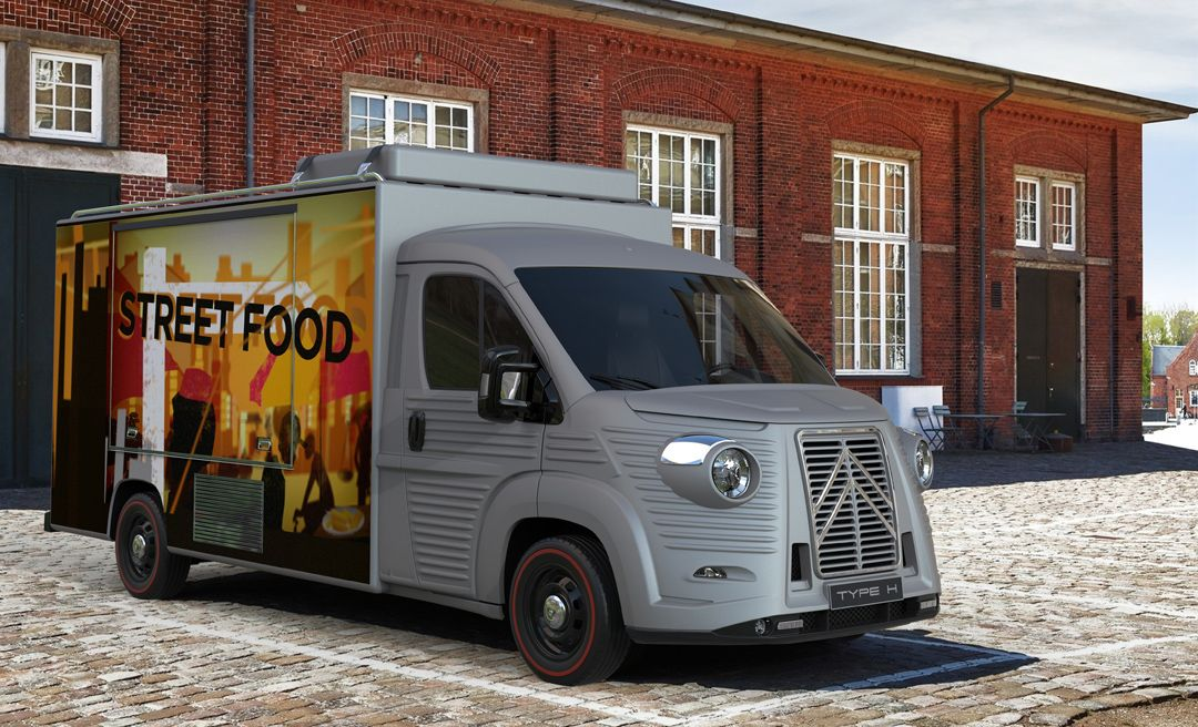 FOOD TRUCK / MOBILE SHOP MODERN STYLE